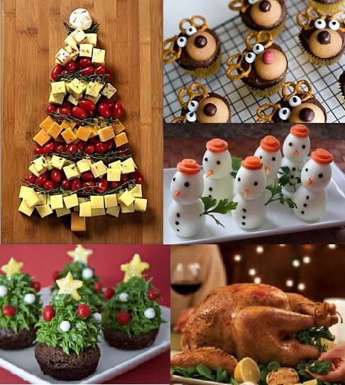 MOUTH WATERING CHRISTMAS DINNER IDEAS.....