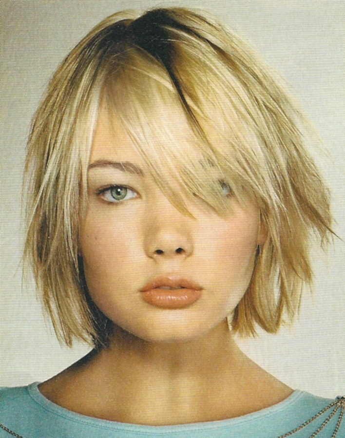 Cute short layered hair cut