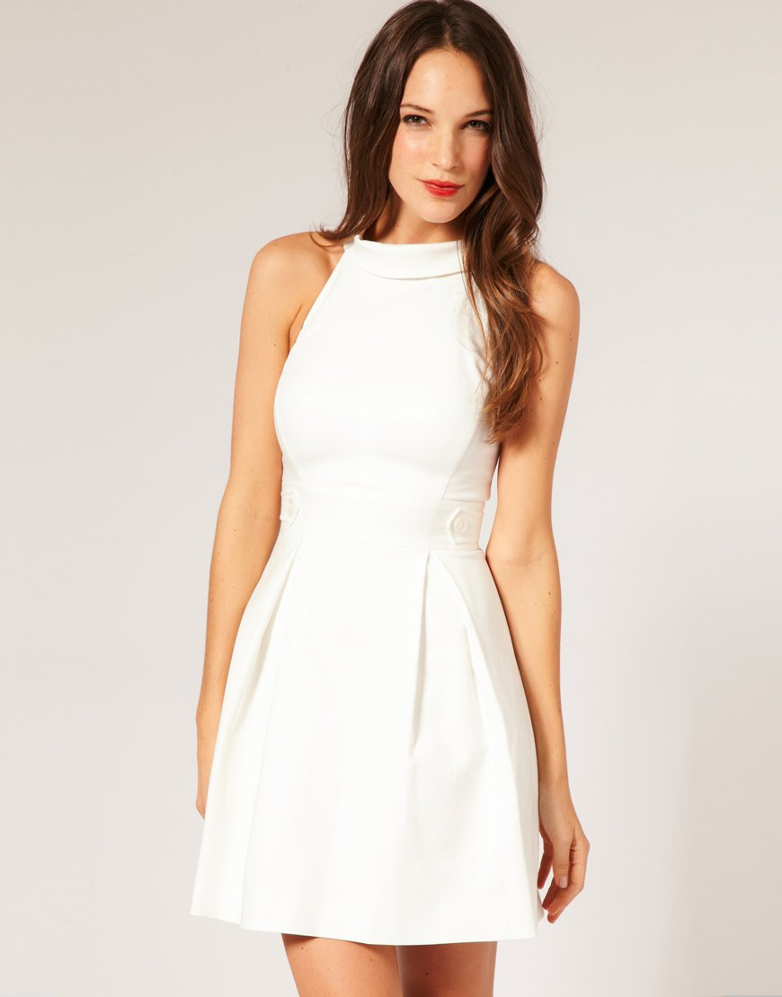 Trends-elegant-white-casual-dresses