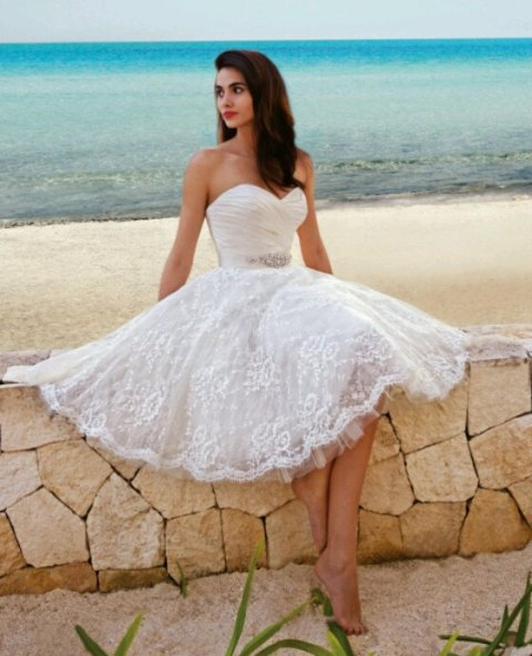 cute-white-summer-wedding-dress-2015.