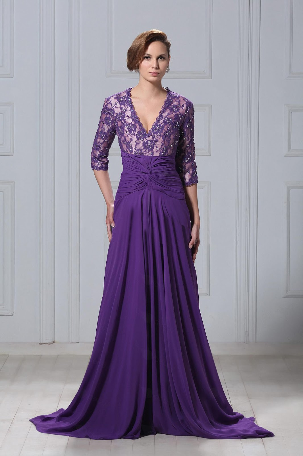 lace-and-chiffon-v-neck-a-line-long-mother-of-the-bride-dress