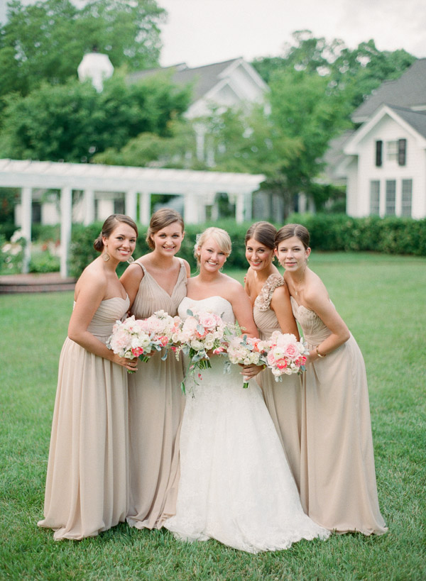 southern-wedding-tan-bridesmaid-dresses