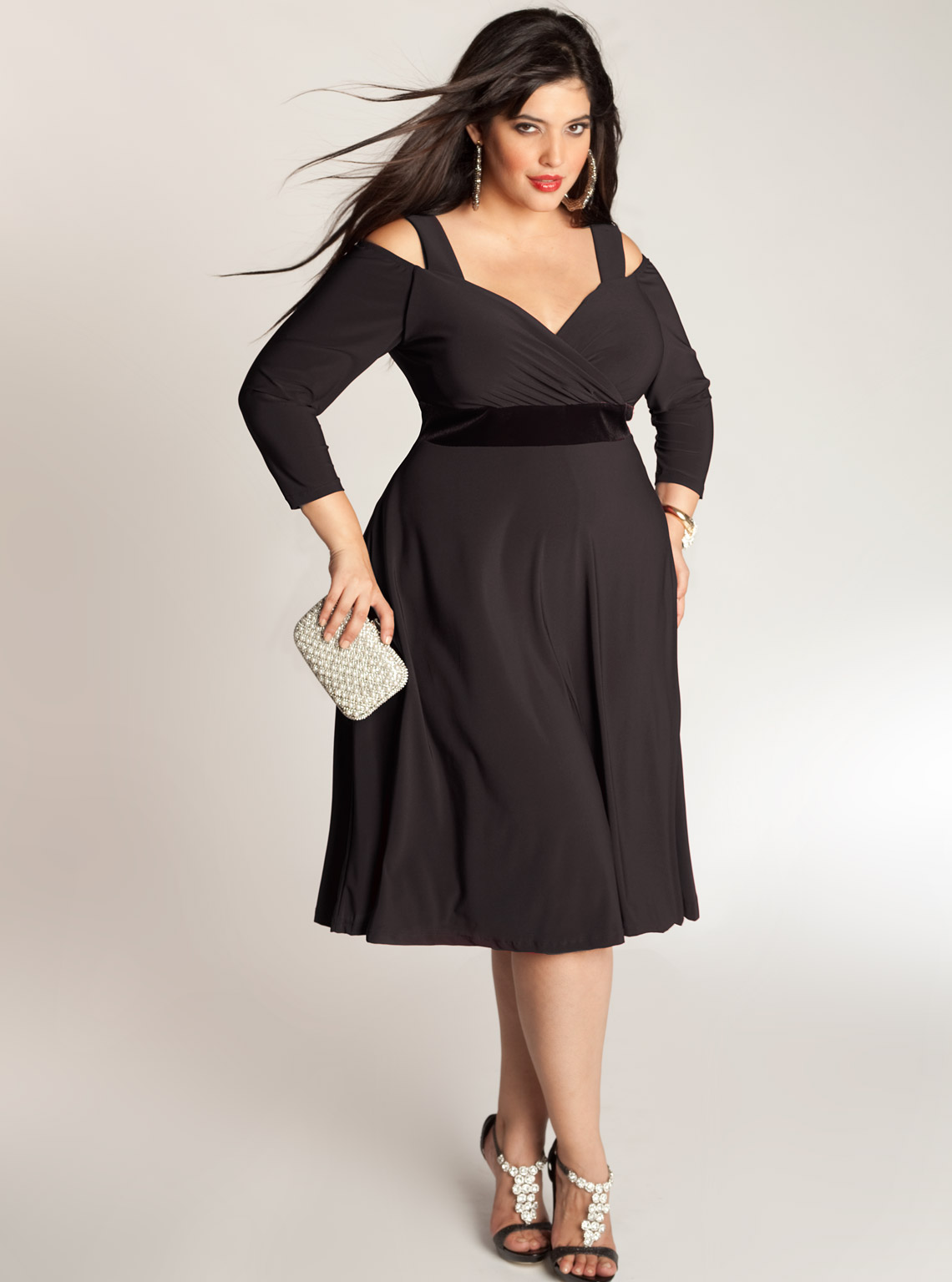 wpid-Cheap-Little-Black-Dress-For-Plus-Size-2015