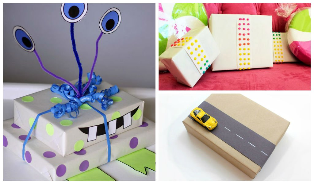 hift wrapping ideas