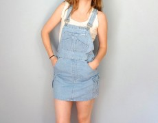 CUTE PINAFORE DRESSES TO BRING BACK THE SCHOOL DAYS ……..