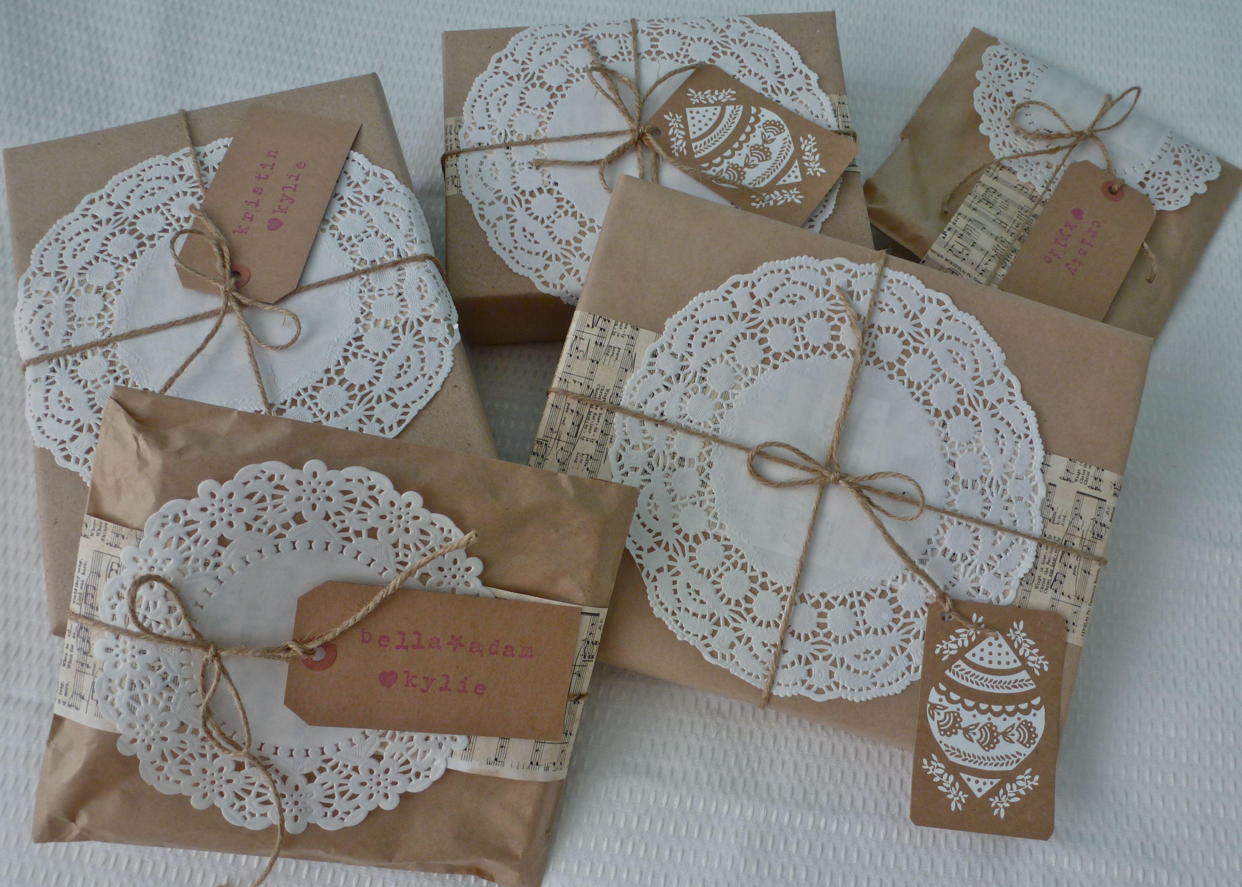GIFT WRAPPING ...5