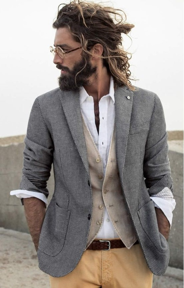 30 Sexy Bun Hairstyles For Men Godfather Style