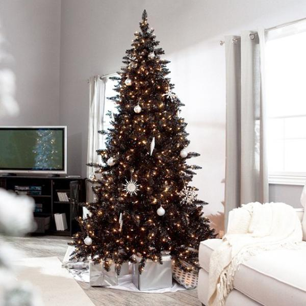 34 modern christmas tree decoration ideas - Modern christmas tree ideas ...