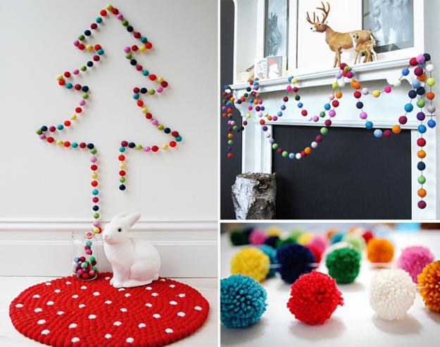 26 cheap christmas decorations that fits in your budjet for Cheap xmas decorations