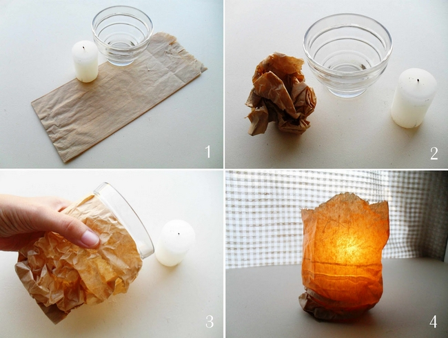 decorating-ideas-glass-candle-holders-paper-sandwich-bags.