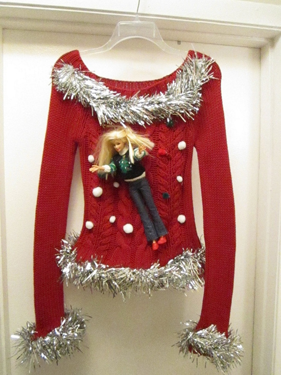 eye catching attractive handmade ugly sweater ideas for