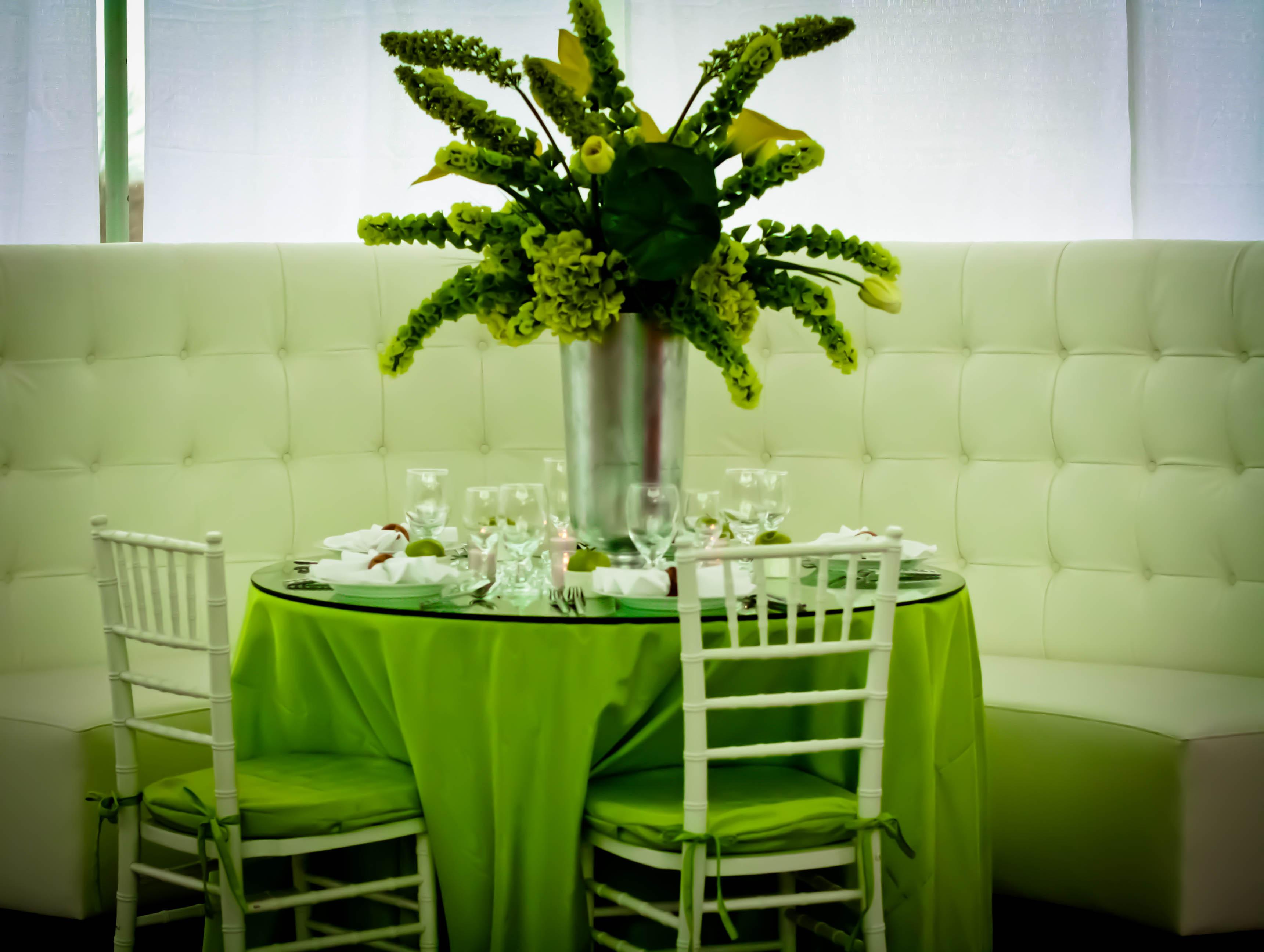 green-centrepiece