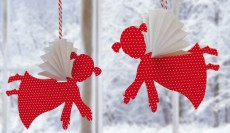 20 FUN TO MAKE EASY CHRISTMAS PAPER CRAFTS WITH YOUR KIDS……