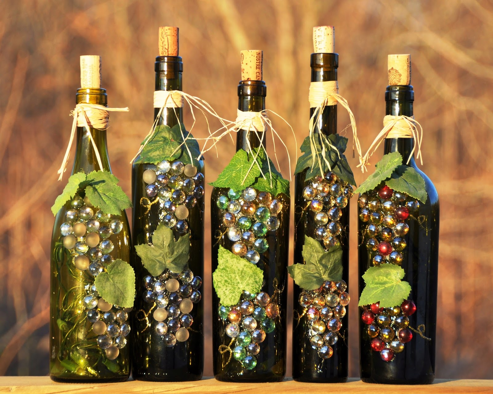 25 creative wine bottle decoration ideas for this for How to make wine bottle crafts