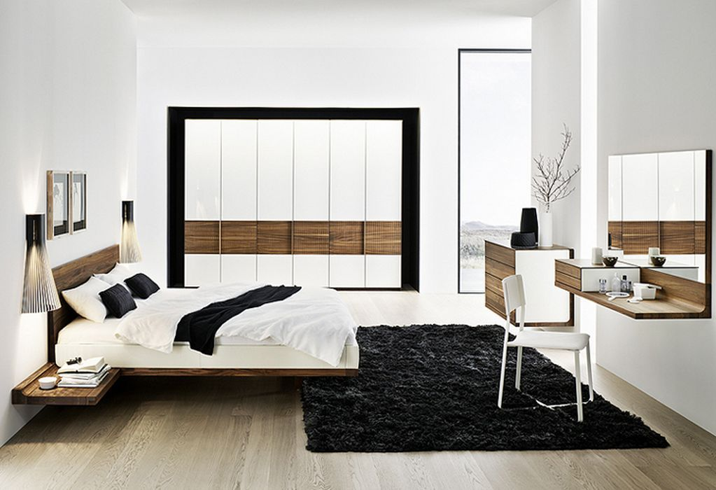 34 amazing modern master bedroom designs for your home for Modern bedroom designs