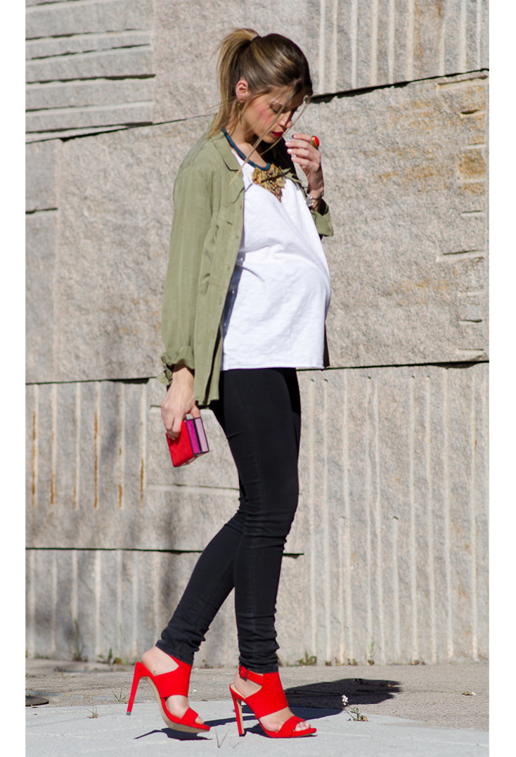 Casual-outfits-for-pregnant-women