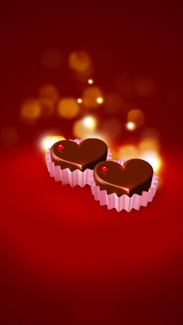 Chocolate-Hearts-iphone-5-wallpaper