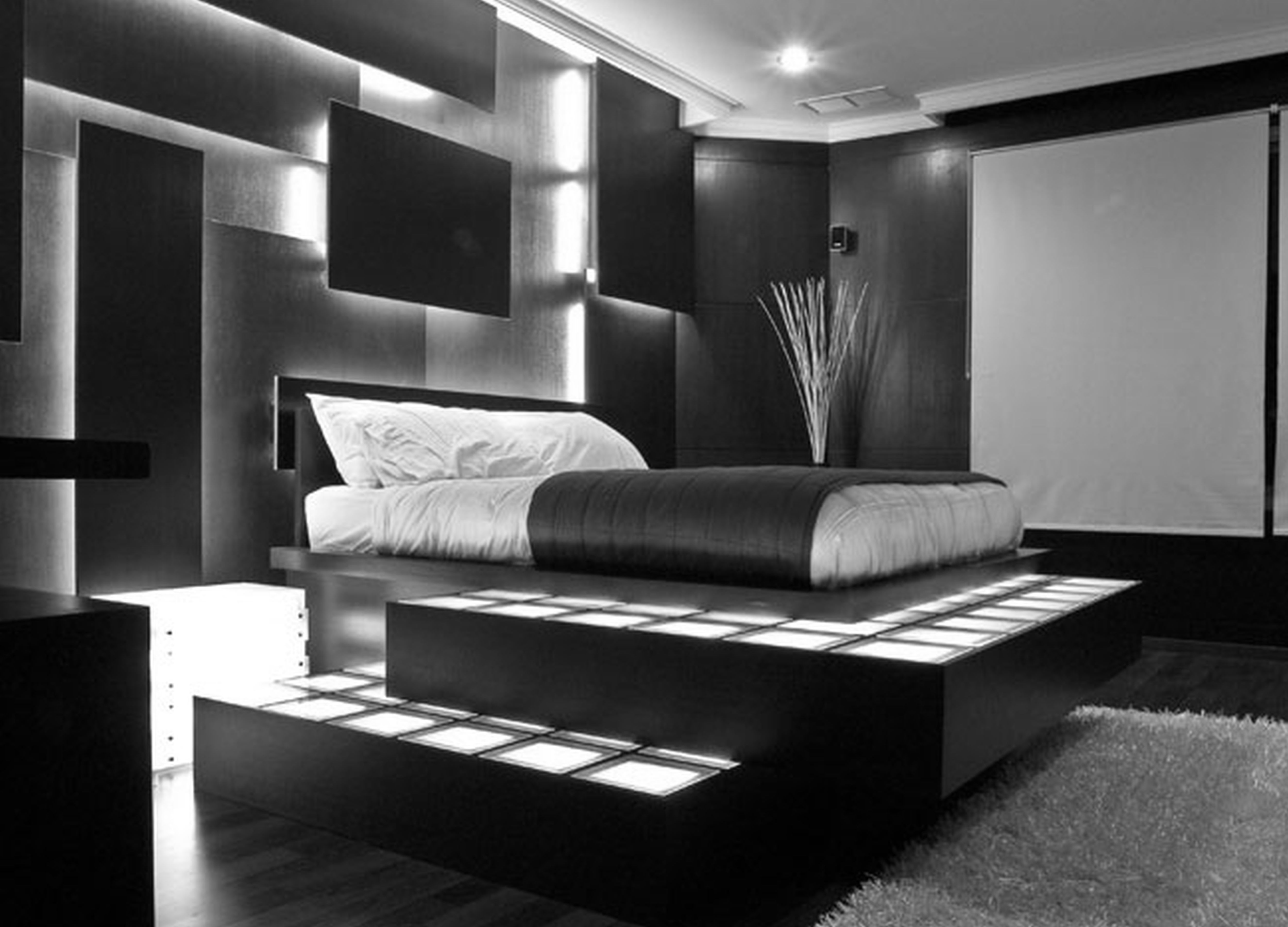 34 STYLISH MASCULINE BEDROOMS ....... - Godfather Style on Bedroom Ideas Guys  id=34361