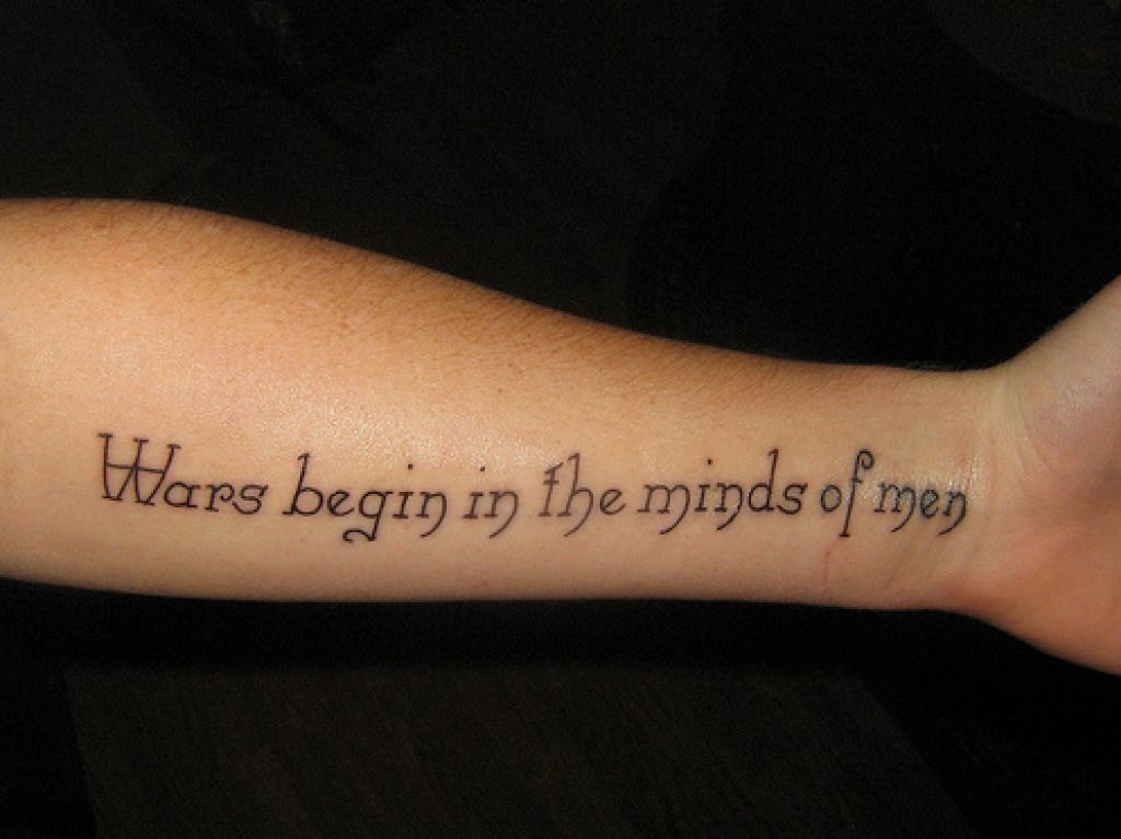 24 best tattoo quotes godfather style