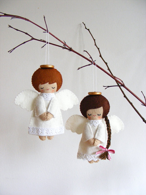 angel ornaments....
