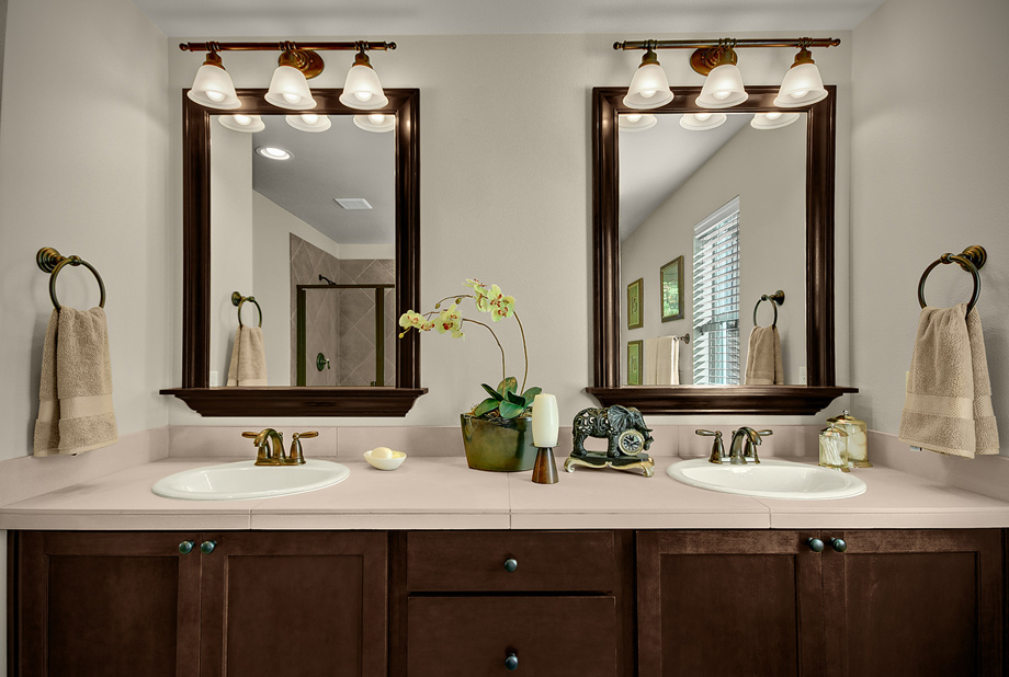 framed-bathroom-mirrors-bronze