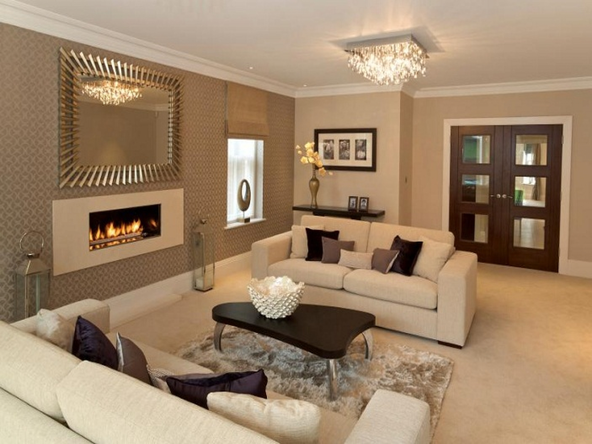 15 exclusive living room ideas for the perfect home for White living room furniture ideas