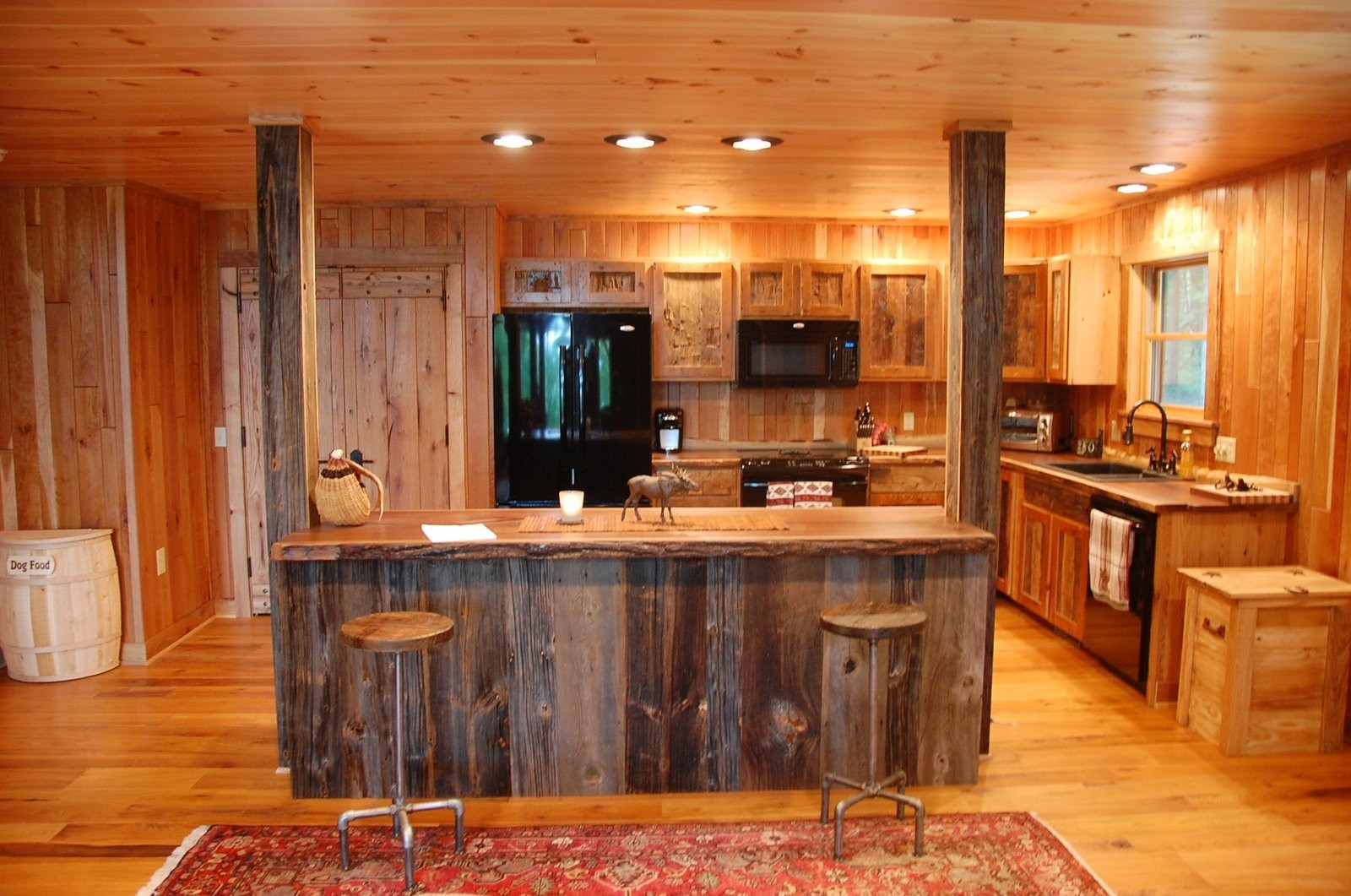 rusticwooden kitchen