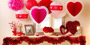 33 ADORABLE RED COLOUR VALENTINE DECORATION IDEAS……