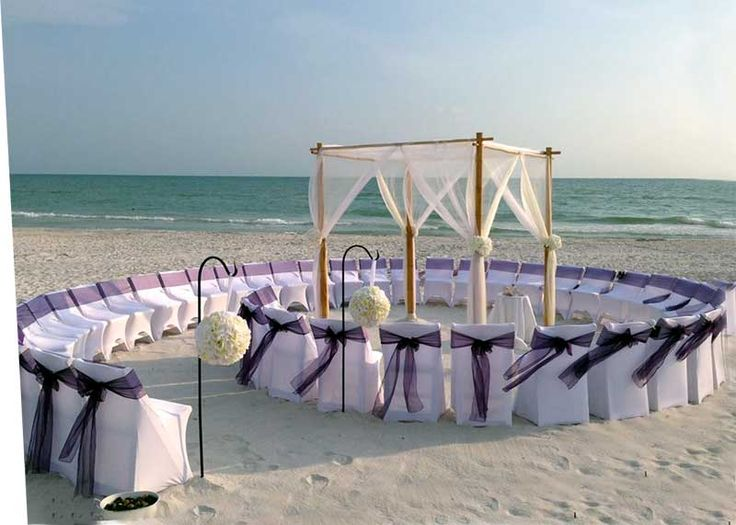 Beach Wedding Ceremony: 20 AMAZING BEACH WEDDING IDEAS......