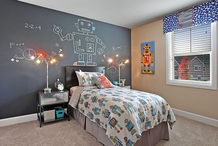 chalkboard bedroom designs