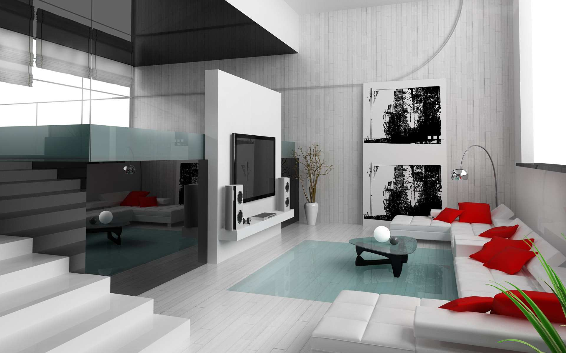 23 modern interior design ideas for the perfect home for Modern living room decor