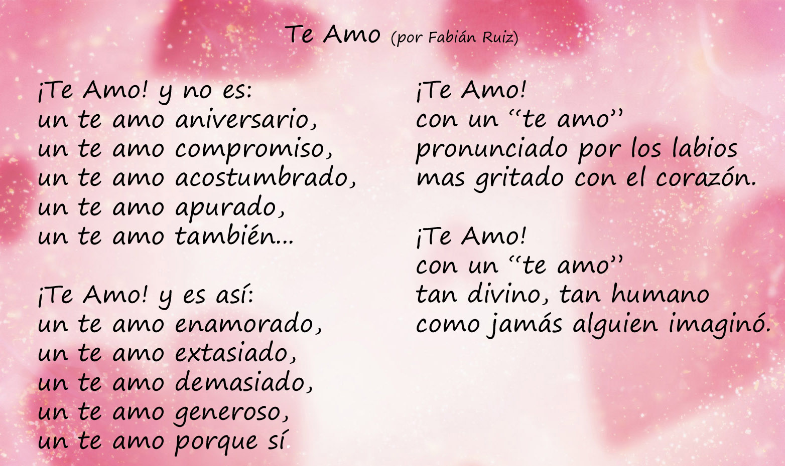 Beautiful Love Quotes For Her In Spanish : love-poem-in-spanish.