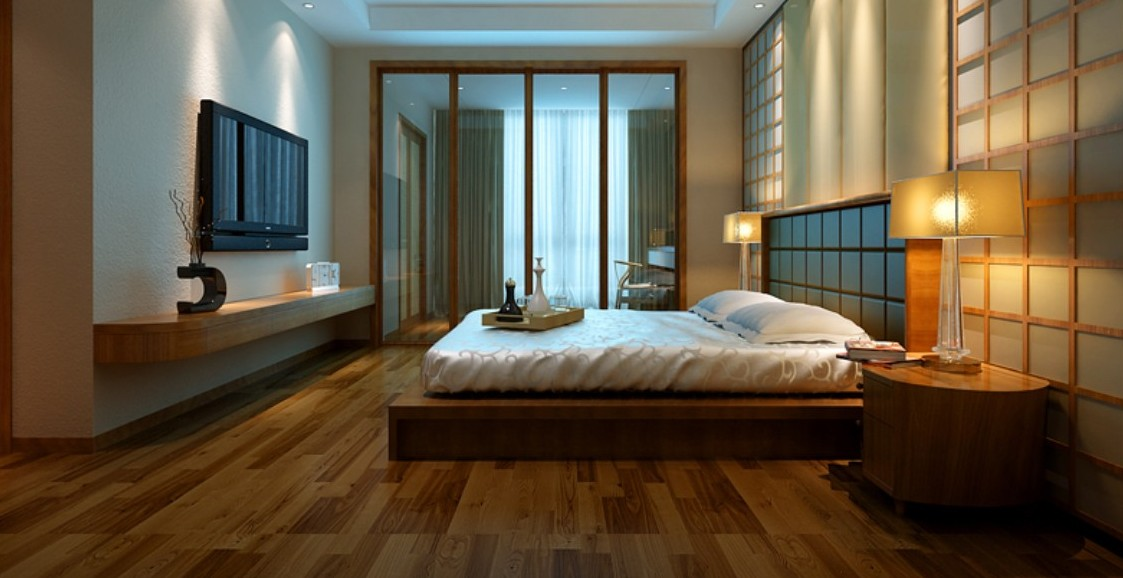 33 rustic wooden floor bedroom design inspirations godfather