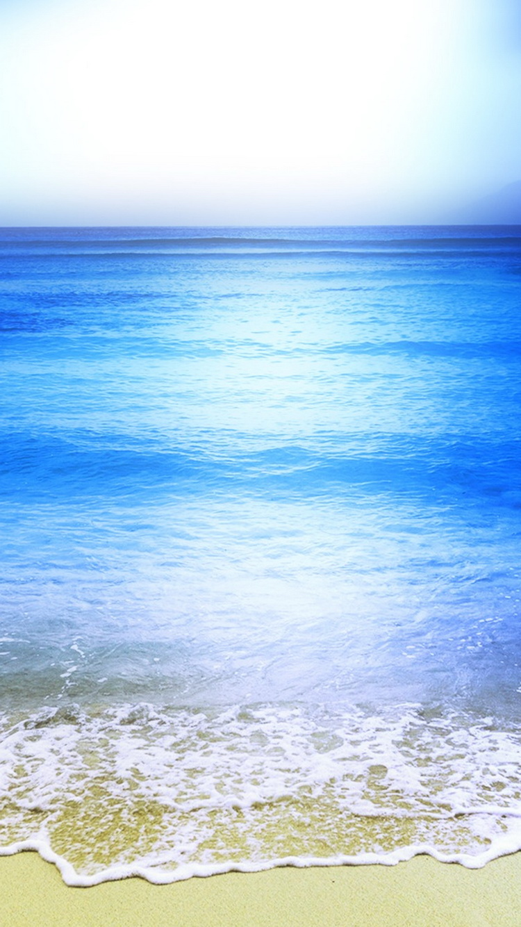 Calm-Sea-Wave-Beach-Shore-iPhone-6-Wallpaper.