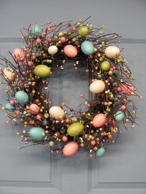 EASTER WREATHS... - short beach style wedding dresses