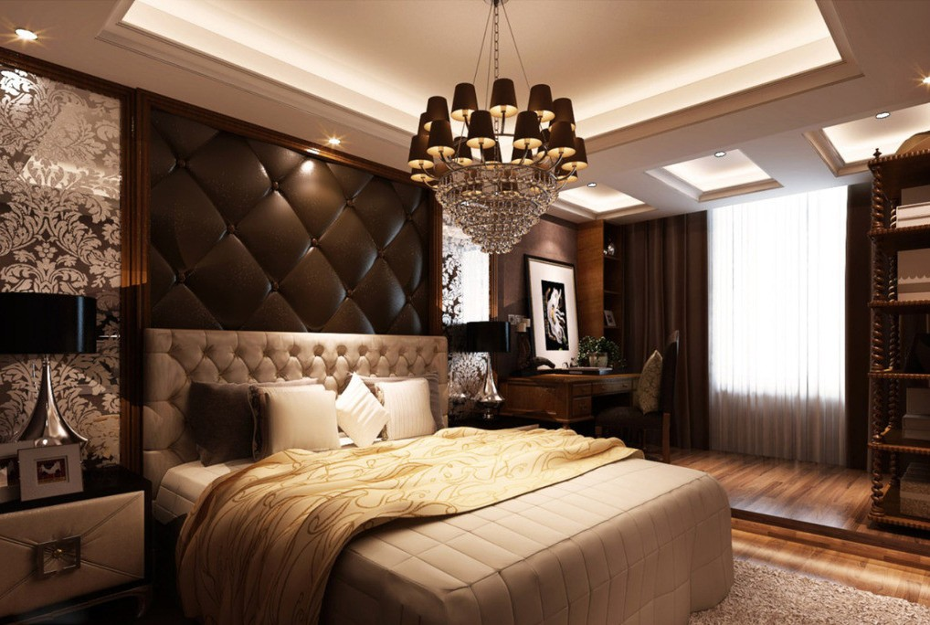 Luxury at peek 35 fascinating bedroom designs for Well decorated bedroom