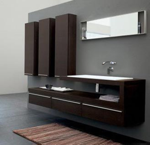 45 relaxing bathroom vanity inspirations godfather for Bathroom cabinets modern