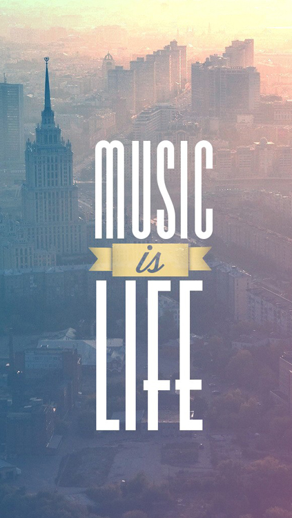 Music-is-Life-iPhone-5-Wallpaper.