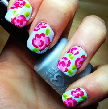 Simple-Easy-Flower-Nail-Art-Designs-Ideas-