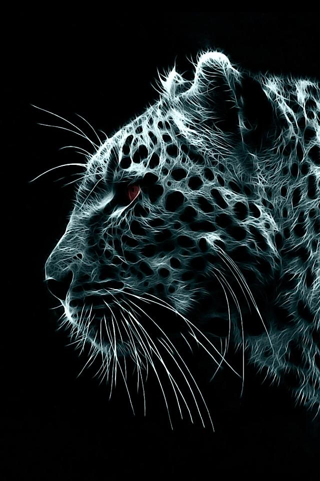 Snow-Leopard-Illustration-iPhone-Wallpaper.