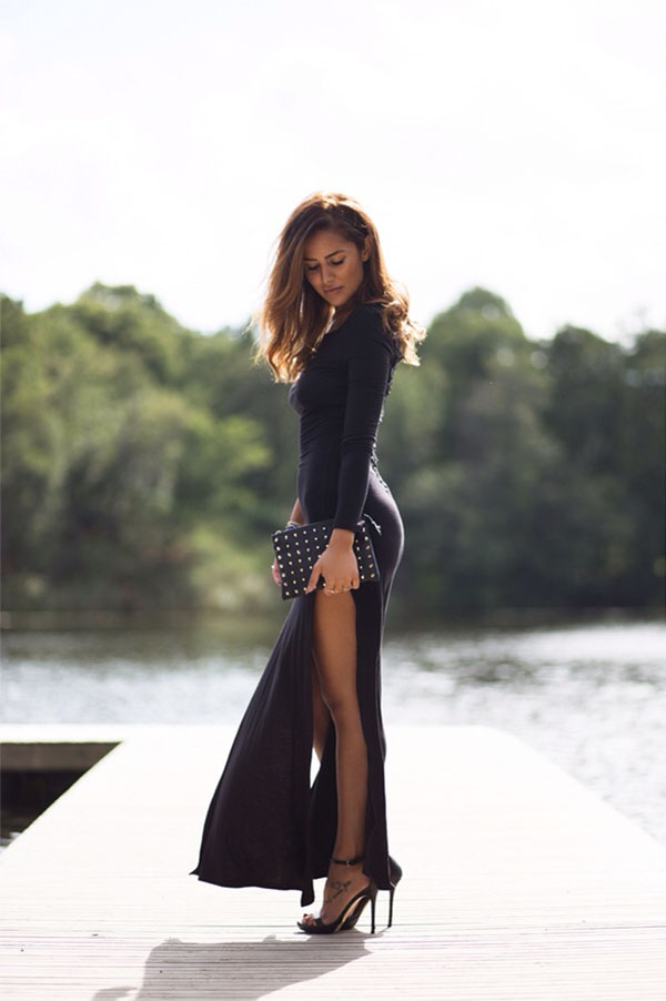 Stylish-High-Slit-Dress.