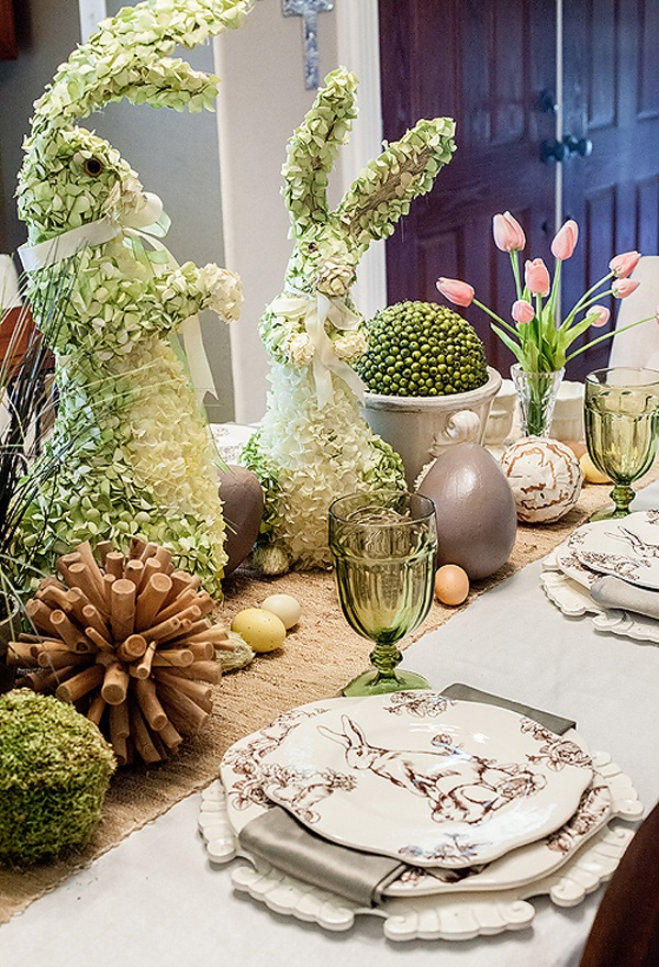 45 AMAZING EASTER TABLE DECORATION IDEAS.... - Godfather Style