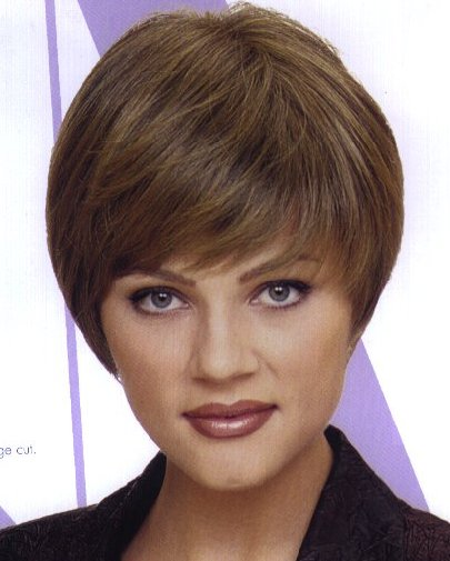 Classic Wedge Cut Hairstyles
