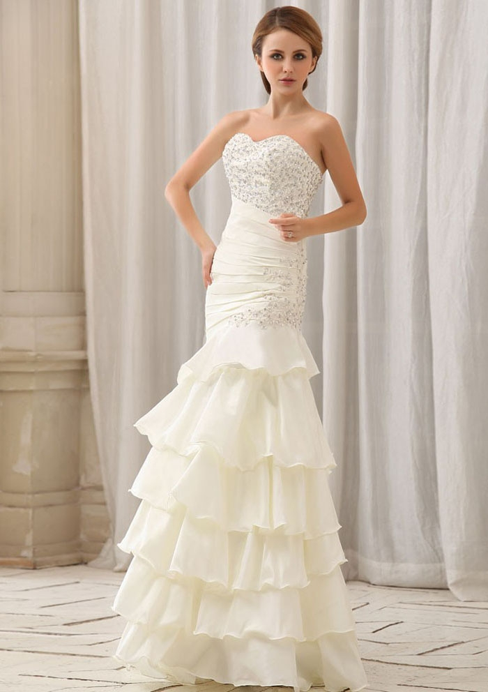 affordable-mermaid-turmpet-sweetheart-tiered-beaded-floor-length-white-taffeta-wedding-dresses-bridal-gown-for-brides