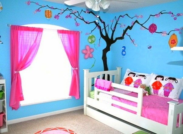 50 kids bedroom decor inspirations godfather style With simple kids room painting ideas
