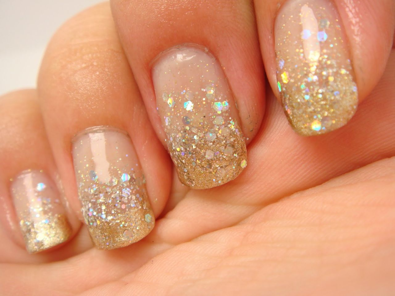 30 classy gold glittery nail designs godfather style
