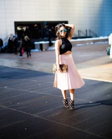 55 STUNNING PLEATED SKIRTS FOR THE FASHION DIVAS………….