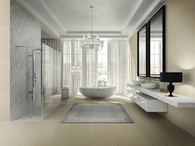 25 stylish modern bathroom designs godfather style for Modern style bathroom designs