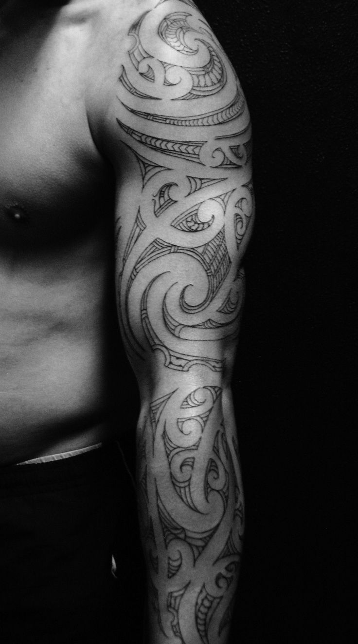 polynesian-tribal-sleeve-tattoo-tatouaz-maniki-2.