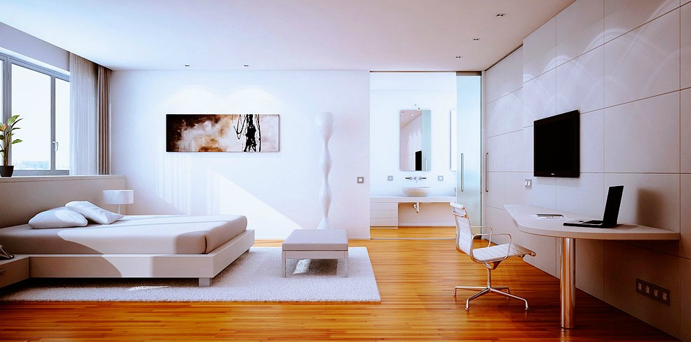 white-bedroom-with-wooden-floor.